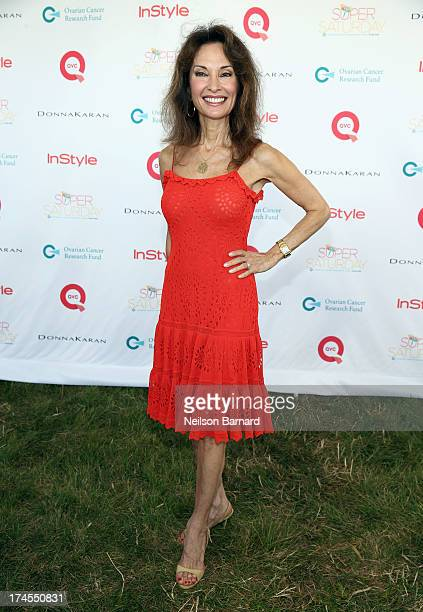 Actress Susan Lucci attends QVC Presents Super Saturday LIVE at Nova's Ark Project on July 27 2013 in Water Mill New York