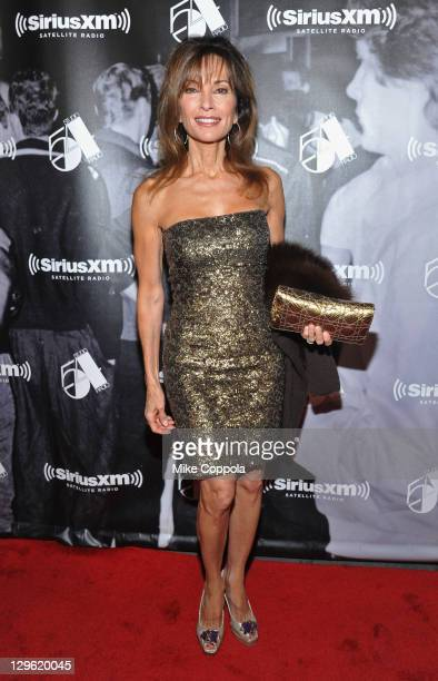 Actress Susan Lucci attends SiriusXM's 'One Night Only' at Studio 54 on October 18 2011 in New York City