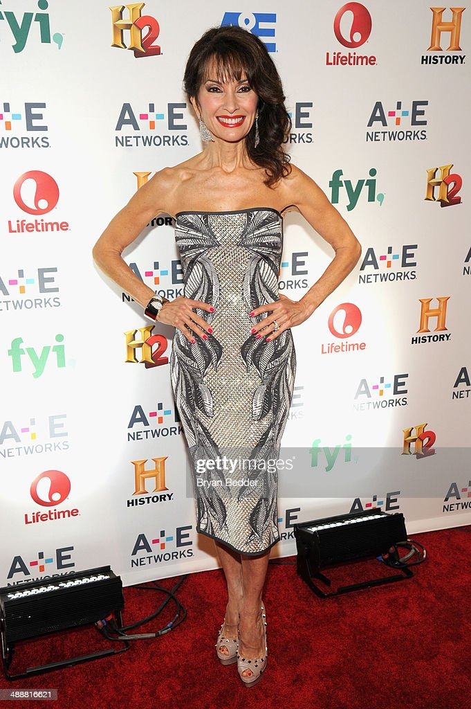Actress Susan Lucci attends the 2014 A+E Networks Upfront on May 8, 2014 in New York City.