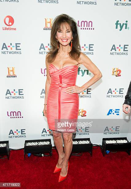 Actress Susan Lucci attends the 2015 A+E Network Upfront at Park Avenue Armory on April 30, 2015 in New York City.