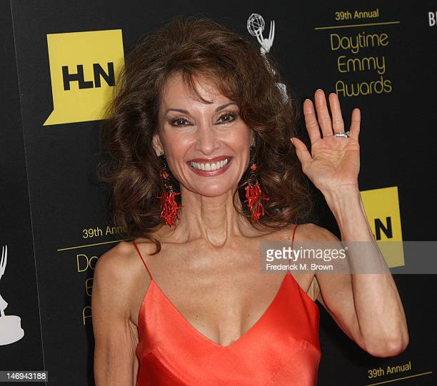 Actress Susan Lucci attends the 39th Annual Daytime Entertainment Emmy Awards at The Beverly Hilton Hotel on June 23 2012 in Beverly Hills California