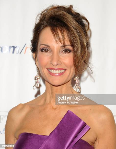 Actress Susan Lucci attends the 8th Annual Elton John AIDS Foundation�s An Enduring Vision benefit at Cipriani Wall Street on November 16 2009 in New...