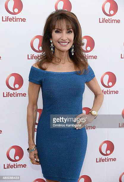 Actress Susan Lucci attends the Devious Maids Fan Event at the Bryant Park Hotel on April 16 2014 in New York City