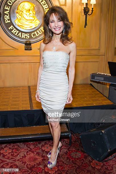 Actress Susan Lucci attends the Friars Club Salute to Susan Lucci at New York Friars Club on April 23, 2012 in New York City.