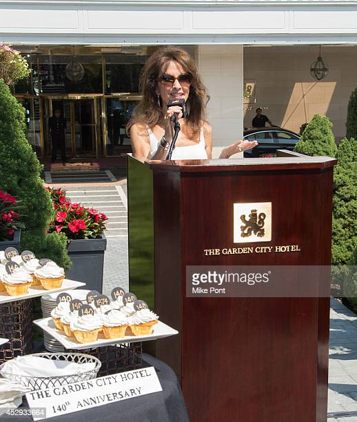 Actress Susan Lucci attends The Garden City Hotel 140th Anniversary Celebration at Garden City Hotel on July 30 2014 in Garden City New York
