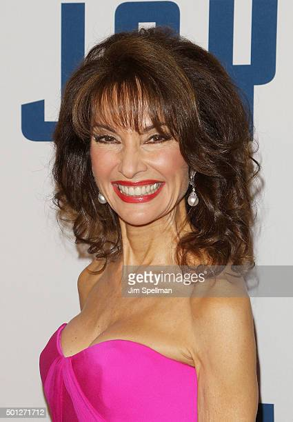 Actress Susan Lucci attends the 'Joy' New York premiere at the Ziegfeld Theater on December 13 2015 in New York City