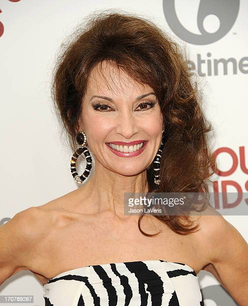 Actress Susan Lucci attends the premiere of 'Devious Maids' at BelAir Bay Club on June 17 2013 in Beverly Hills California