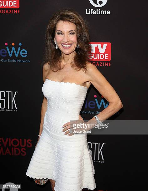Actress Susan Lucci attends the Premiere of Lifetime's Devious Maids Season 4 at STK Los Angeles on June 2 2016 in Los Angeles California