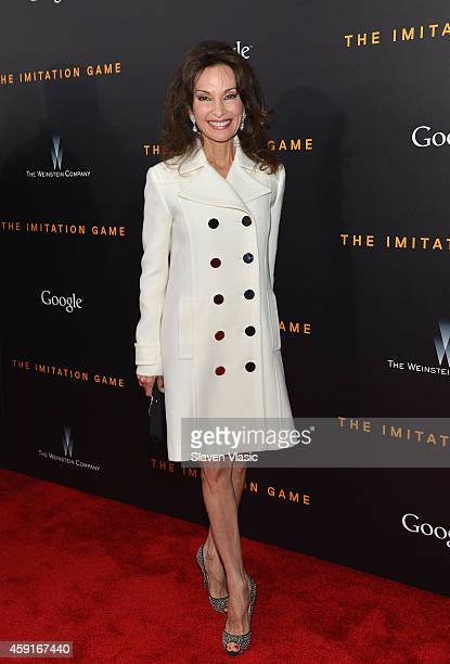 Actress Susan Lucci attends the 'The Imitation Game' New York Premiere at Ziegfeld Theater hosted by Weinstein Company on November 17 2014 in New...
