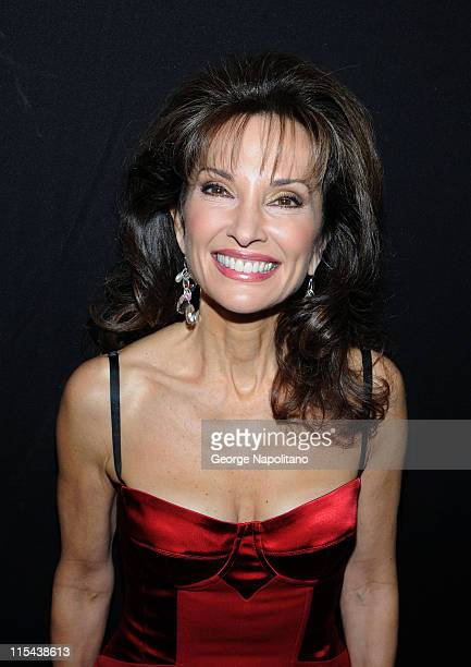 Actress Susan Lucci during the unveiling of her wax figure at Madame Tussauds on February 12 2008 in New York