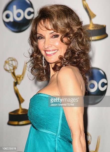 Actress Susan Lucci in the press room at The 35th Annual Daytime Emmy Awards at the Kodak Theatre on June 20 2008 in Los Angeles California