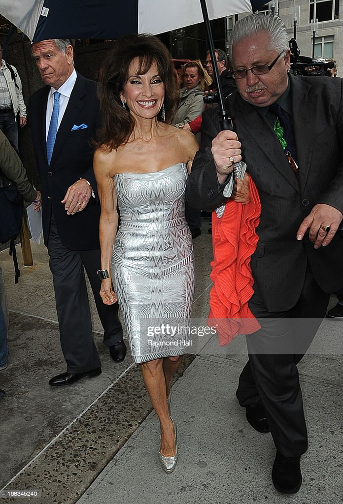 Actress Susan Lucci is seen outside Trump Hotel on May 8, 2013 in New York City.