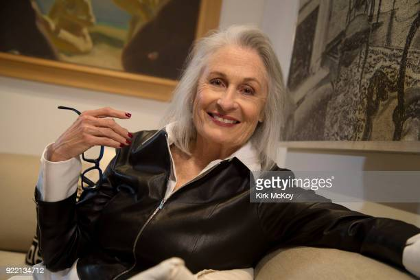 Actress Susan Nimoy is photographed for Los Angeles Times on January 8, 2018 in Bel Air, California. PUBLISHED IMAGE. CREDIT MUST READ: Kirk...