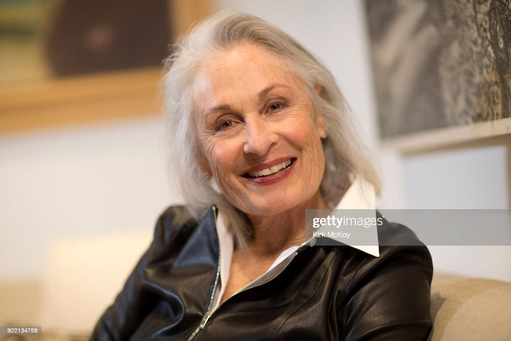 Actress Susan Nimoy is photographed for Los Angeles Times on January 8, 2018 in Bel Air, California. PUBLISHED IMAGE.