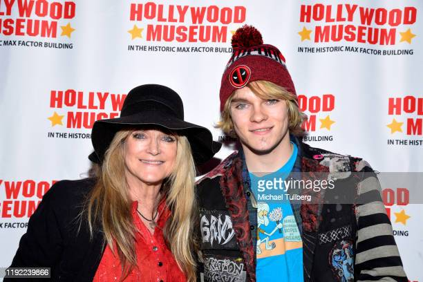 Actress Susan Olsen and Michael Markwell attend Hollywood Museum's Back To The Future Trilogy The Exhibit at The Hollywood Museum on December 05 2019...
