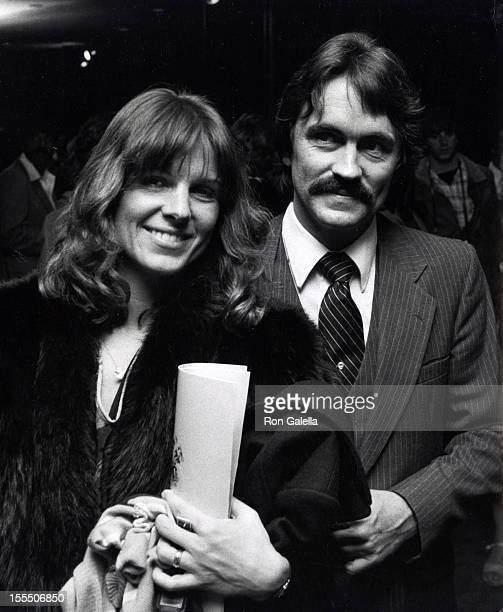 Actress Susan Saint James and actor Bruce Lewis attend the screening of Caveman on April 2 1981 at the Academy Theater in Beverly Hills California