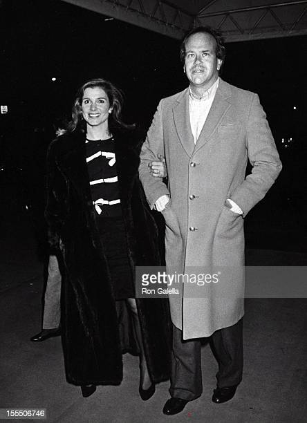 Actress Susan Saint James and producer Dick Ebersol attend the fundraiser for Joe Kennedy on December 1 1988 at Courtney Kennedy Rhue's home in New...