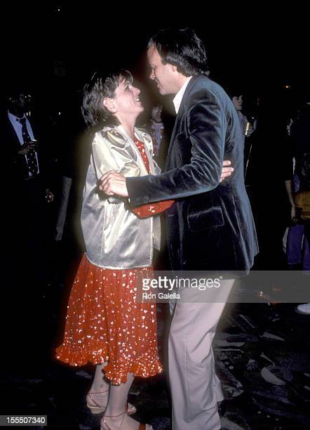 Actress Susan Saint James and television executive Dick Ebersol attend the Saturday Night Live Seventh Season Finale Cast and Crew Party on May 22...