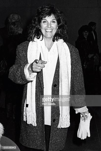 Actress Susan Saint James attends the screening of Tin Men on February 18 1987 at the Museum of Modern Art in New York City