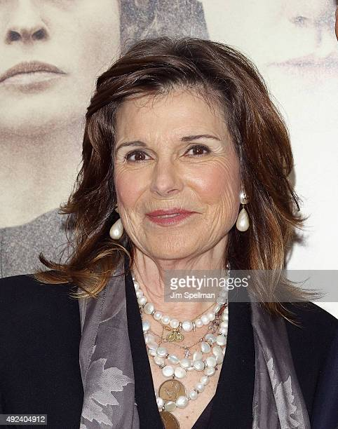 Actress Susan Saint James attends the Suffragette New York premiere at The Paris Theatre on October 12 2015 in New York City