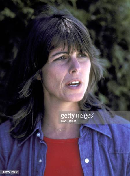 Actress Susan Saint James on August 21 1981 vacations with the Kennedy family at The Kennedy Compound in Hyannis Port Massachusetts