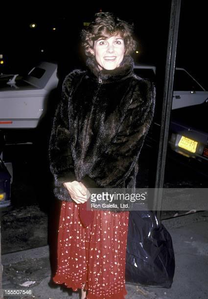Actress Susan Saint James on December 7 1983 dines at Elaine's Restaurant in New York City