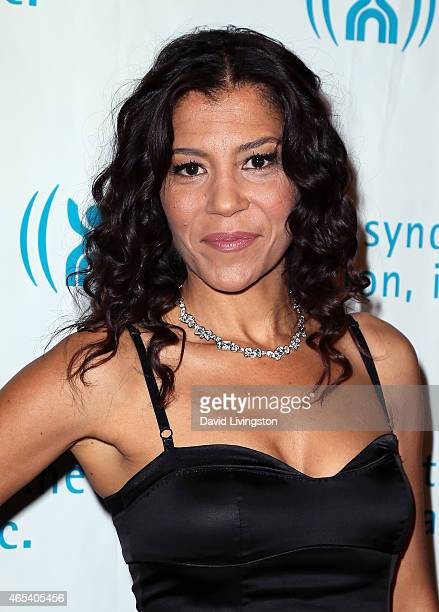 Actress Susan Santiago attends the 2nd Annual Hollywood Heals Spotlight On Tourette Syndrome at House of Blues Sunset Strip on March 5 2015 in West...