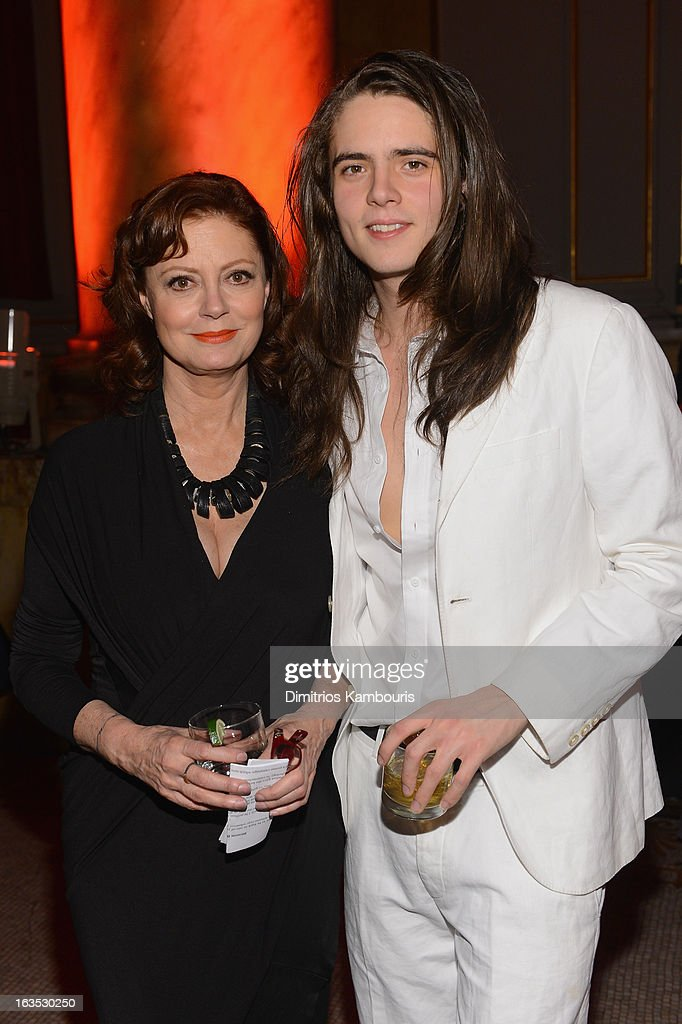 Actress Susan Saradon and Miles Robbins attend the Endometriosis Foundation of America's Celebration of The 5th Annual Blossom Ball at Capitale on March 11, 2013 in New York City.