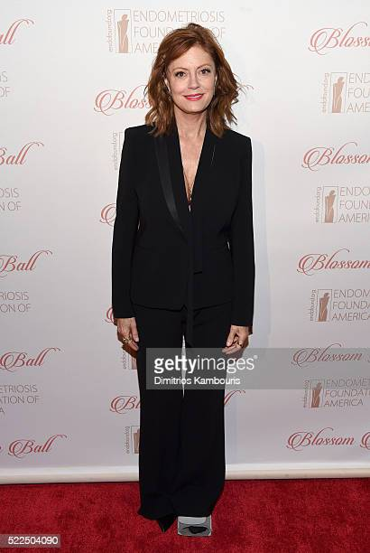 Actress Susan Sarandon arrives at the 8th Annual Blossom Ball benefiting the Endometriosis Foundation of America hosted by EFA Founders Padma Lakshmi...