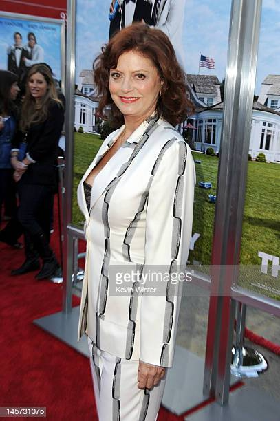 Actress Susan Sarandon arrives at the premiere of Columbia Pictures' That's My Boy at Regency Village Theatre on June 4 2012 in Westwood California
