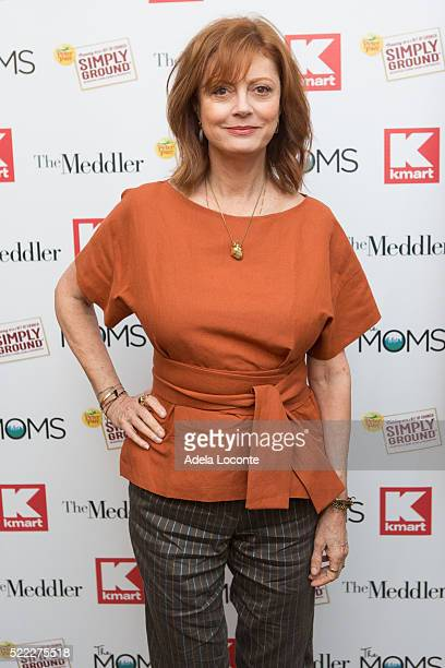 """Actress Susan Sarandon attends Mamarazzi Screening Of """"The Meddler"""" at Crosby Street Theater on April 18, 2016 in New York City."""