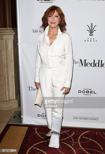 Actress Susan Sarandon attends Sony Pictures Classics Los Angeles Premiere Of 'The Meddler' at Pacific Theatre at The Grove on April 13, 2016 in Los...