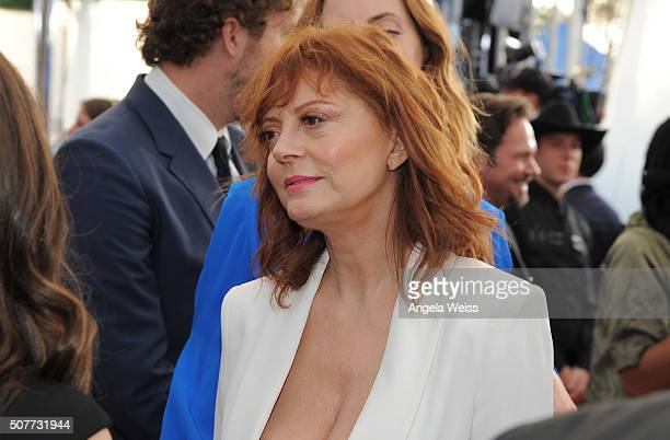 Actress Susan Sarandon attends the 22nd Annual Screen Actors Guild Awards at The Shrine Auditorium on January 30 2016 in Los Angeles California