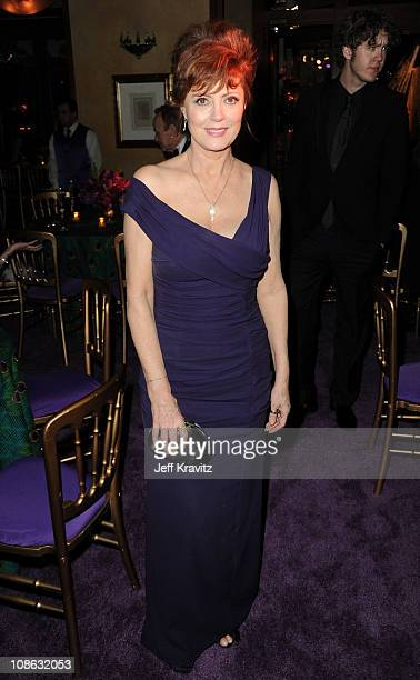 Actress Susan Sarandon attends the official HBO SAG Awards after party held at at Spago on January 29 2011 in Beverly Hills California