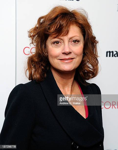 Actress Susan Sarandon attends the premiere of 'Coriolanus' at Paris Theater on January 17 2012 in New York City
