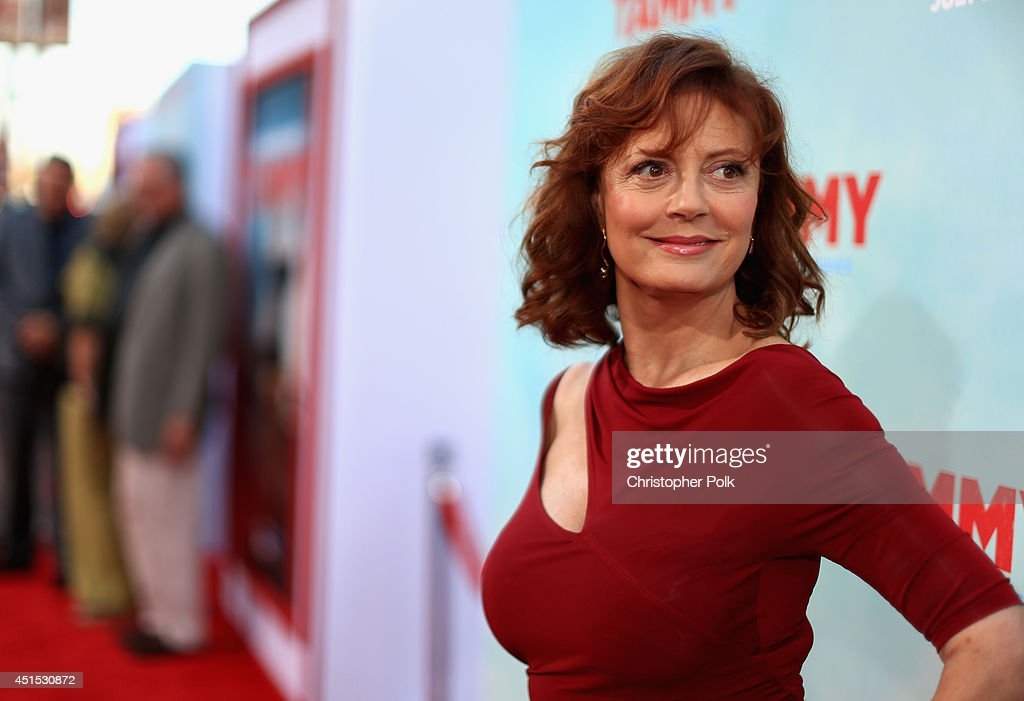 Actress Susan Sarandon attends the 'Tammy' Los Angeles premiere at TCL Chinese Theatre on June 30, 2014 in Hollywood, California.