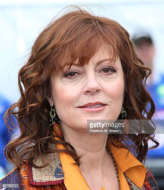 Actress Susan Sarandon attends the Toyota Grand Prix of Long Beach 32 Annual Pro/Celebrity Race on April 19 2008 in Long Beach California