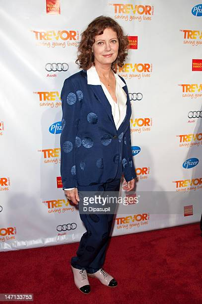 Actress Susan Sarandon attends Trevor Live hosted by the Trevor Project at Chelsea Piers on June 25 2012 in New York City