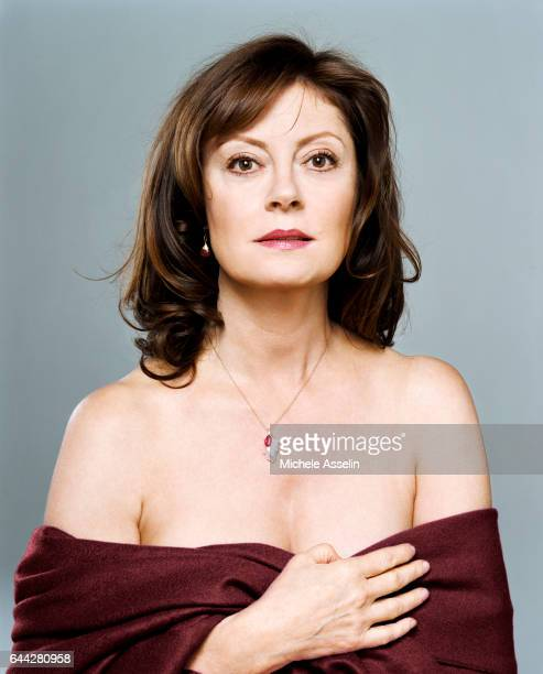 Actress Susan Sarandon is photographed at a portrait session on February 24 2006 in New York City