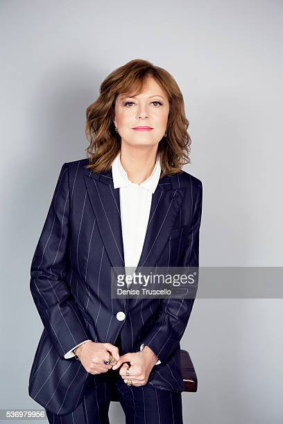 Actress Susan Sarandon is photographed at CinemaCon 2015 on April 12 2016 in Las Vegas Nevada