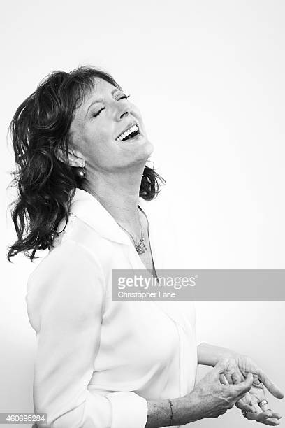 Actress Susan Sarandon is photographed for Guardian Newspaper on July 23, 2014 in New York City.