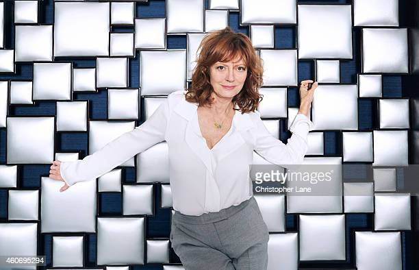 Actress Susan Sarandon is photographed for Guardian Newspaper on July 23 2014 in New York City