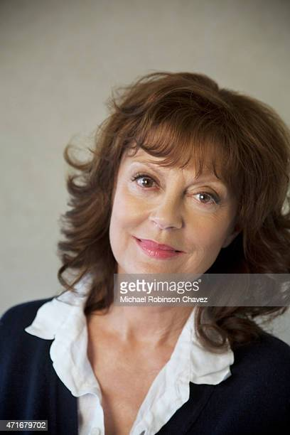 Actress Susan Sarandon is photographed for Los Angeles Times on April 11 2015 in Los Angeles California PUBLISHED IMAGE CREDIT MUST READMichael...