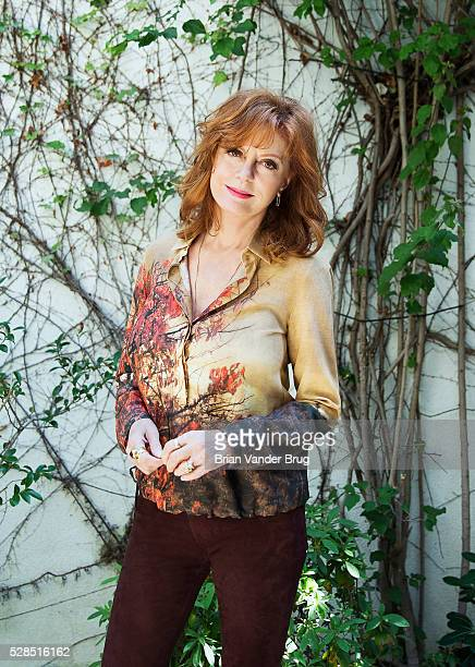 Actress Susan Sarandon is photographed for Los Angeles Times on April 12 2016 in Los Angeles California PUBLISHED IMAGE CREDIT MUST READ Brian Vander...