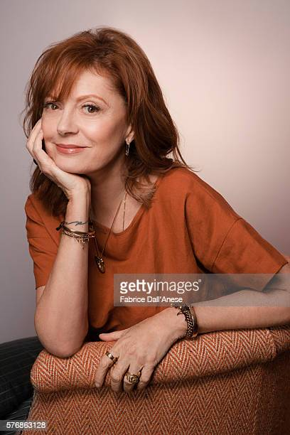 Actress Susan Sarandon is photographed for Vanity Faircom on April 19 2016 in New York City