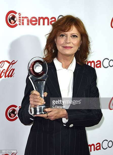 Actress Susan Sarandon recipient of the Cinema Icon Award attends the CinemaCon Big Screen Achievement Awards brought to you by the CocaCola Company...