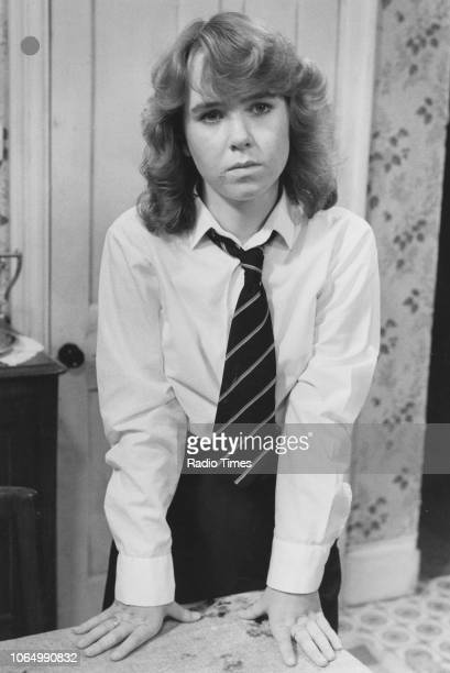 Actress Susan Tully in a scene from the television soap opera 'EastEnders' September 12th 1985