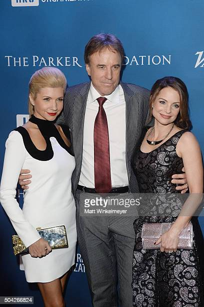 Actress Susan Yeagley actor Kevin Nealon and actress Kimberly WilliamsPaisley arrive at the 5th Annual Sean Penn Friends HELP HAITI HOME Gala...