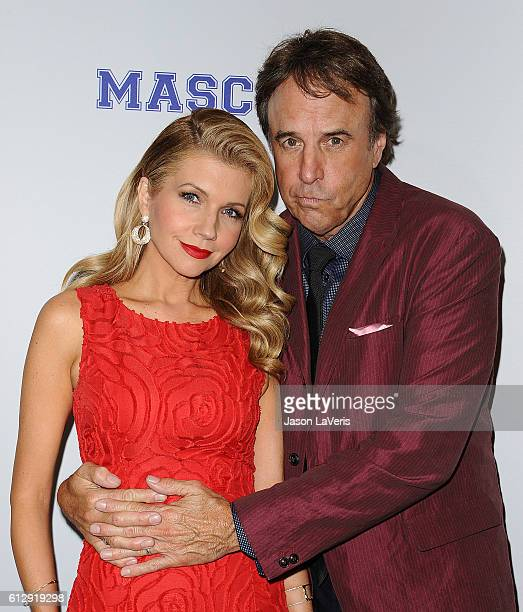 Actress Susan Yeagley and actor Kevin Nealon attend a screening of 'Mascots' at Linwood Dunn Theater on October 5 2016 in Los Angeles California