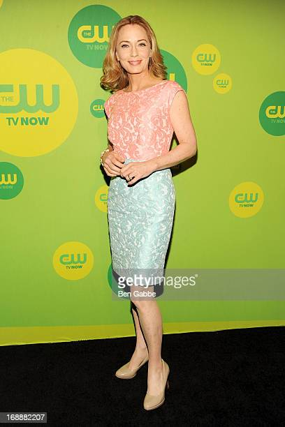 Actress Susanna Thompson attends The CW Network's New York 2013 Upfront Presentation at The London Hotel on May 16 2013 in New York City